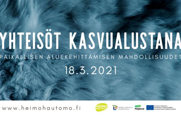 YHTEISÖT KASVUALUSTANA -seminaari 18.3.2021