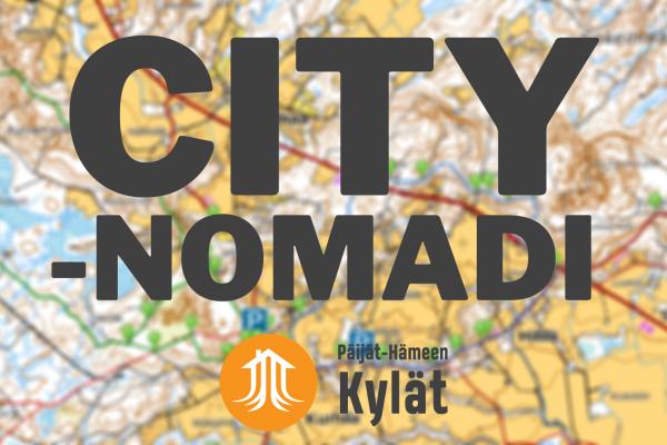 Citynomadi – kylien ja korttelien reitit ja kohteet kartalle